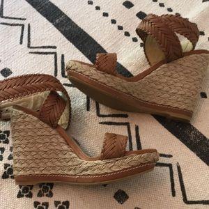 Shoes - Stuart Weitzman Wedge Sandals